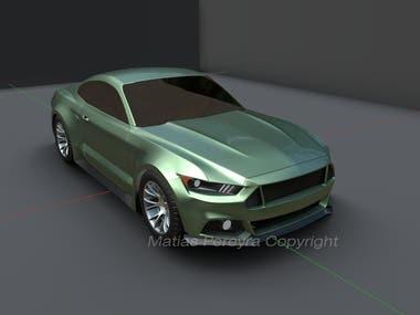 Ford Mustang GT sixth Gen