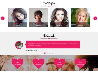 Dating Website PHP