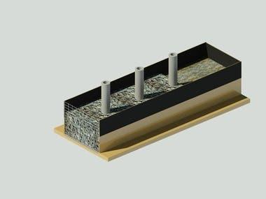 3D Drain Model