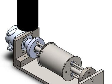 Winch for Cable Robot