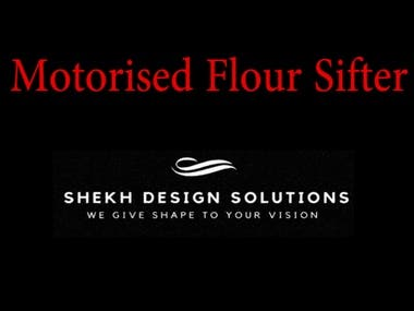 Motorized Flour Sifter Illustration and Animation Video