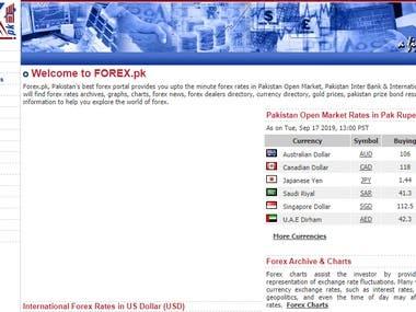Forex trade website