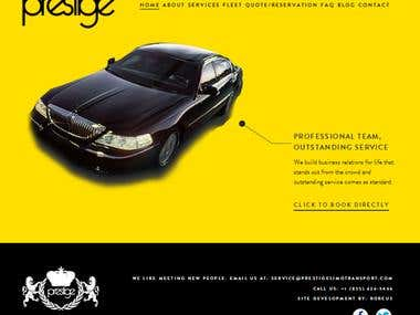 Prestige Limo Transport - Online Limo booking portal