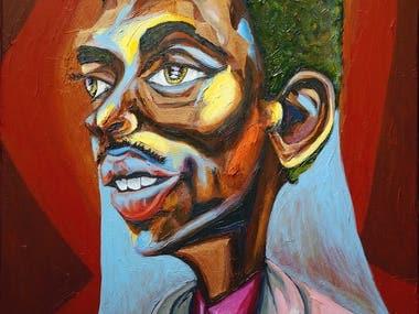 Teddy Edwards Painting