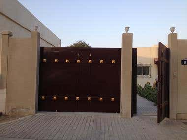 gate re-modelling / sharjah