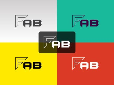 Flat Minimalist Logo