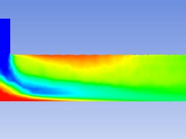 Ansys fluent analysis of mixing tee