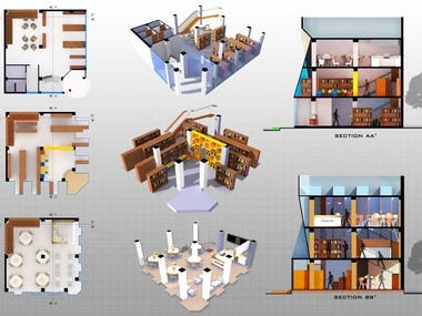 RENDERED ARCHITECTURAL DRAWINGS