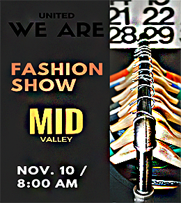 United We Are Fashion Show Flyer