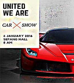 United We Are Car Show Flyer
