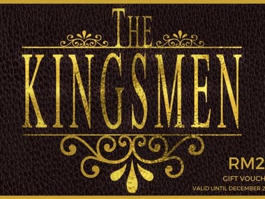 The Kingsmen Gift Card