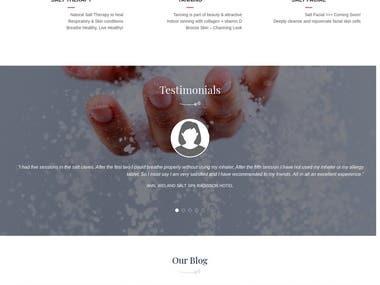 saltcavespame.com | UAE Based SPA Website