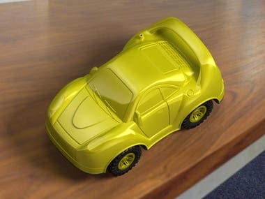Car (toy) design with mold design