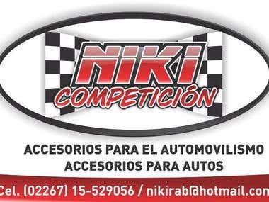 Niki Competicin website