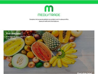 Medlytrade Importing company that sells fruits in begium