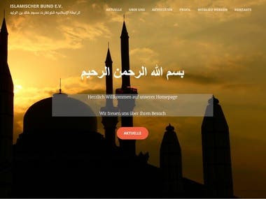 islamischerbund - Non profit organization in Germany