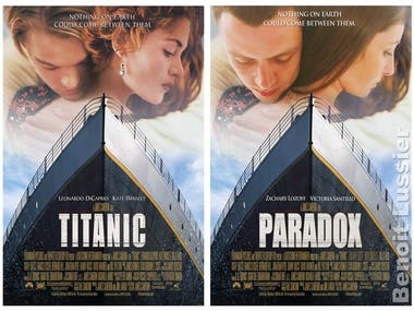Photo editing - Movie poster - Photoshop