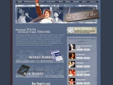 Entertainment/theater website.