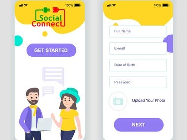 Social Connect - Social App