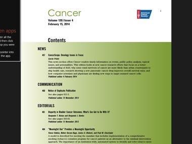 PDF cancer
