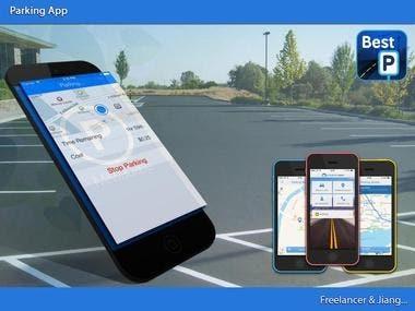 Parking mobile app
