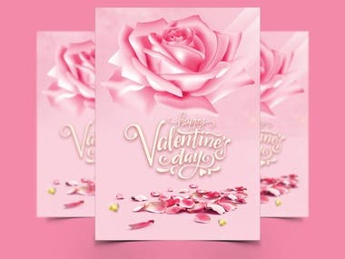 Valentine's Day Greeting Card Designs.