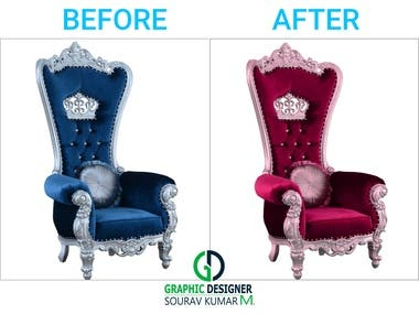 Furniture Color correction