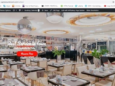 Basic Test Restaurant Website