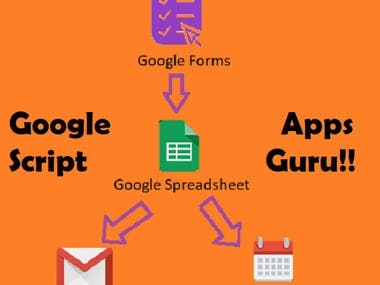 Google Apps Script To Automate Spreadsheet, Gmail, Calendar