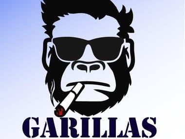 GARILLAS Logo Design