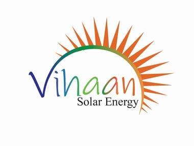 Logo for Vihan solar Energy