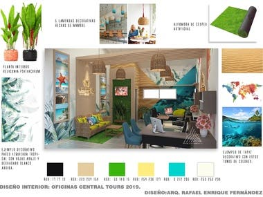 INTERIOR DESIGN TRAVEL AGENCY by RAFAEL F