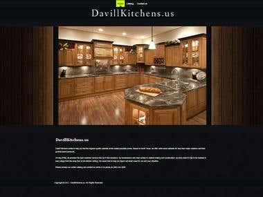Joomla Site Design: davillkitchens.us