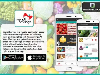 Mandi Saving - Grocery Application