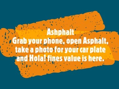 Asphalt: Android app that ease getting your fines in Egypt