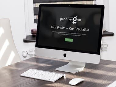 Produvergent | Wordpress website