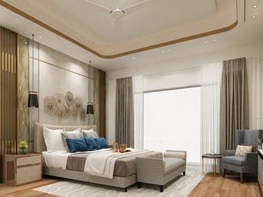 Apartment Bedroom Interior