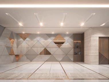 Interior Design of Waiting Lounge
