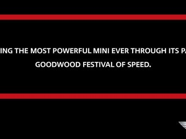 Goodwood festival of speed media event