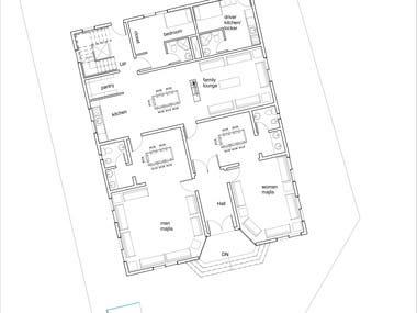 House floor plans in Saudi Arabia