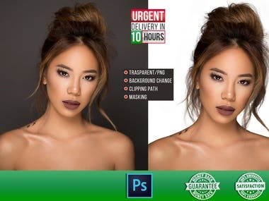 Background Removal/masking/photo eding