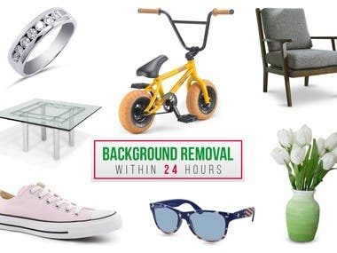 Clipping path/background remove/shadow