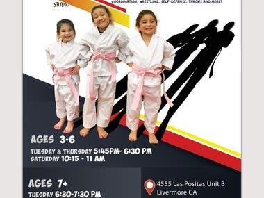 judo flyer