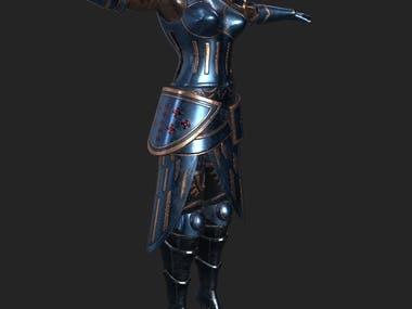 Game female armor