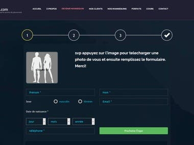 Mannequins Montreal - Login Process Revamp and Updates
