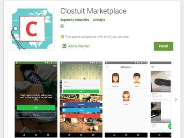 Clostuit Marketplace