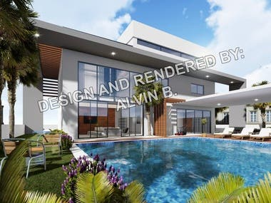 Bahrain Modern Villa