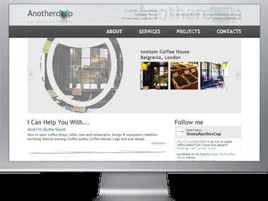 AnotherCup Consultancy Ltd., Website