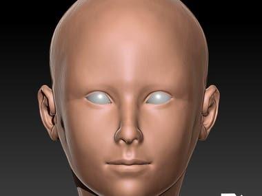 face details 3d