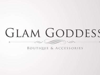 logo for Glam Goddess